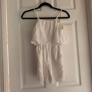 White girls romper